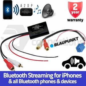 Blaupunkt Bluetooth A2DP Music Streaming Interface Adapter