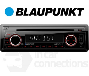 Blaupunkt Alicante 170 in car radio with CD player USB MP3 AUX input for iPhone