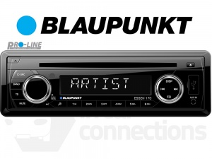 Blaupunkt Essen 170 in car radio with CD player USB MP3 AUX input for iPhone