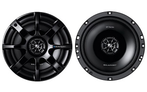 Blaupunkt GTx 662 DE 6.5'' 16.5cm 165mm in car speakers 2 way coaxial 200W