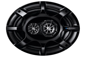 Blaupunkt GTx 693 DE 6 x 9 inch in car speakers 3 way coaxial 260W