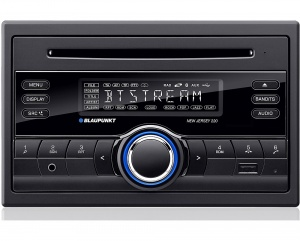 Blaupunkt New Jersey 220 BT in car radio Double Din with Bluetooth iPod control, CD player USB MP3 and AUX input