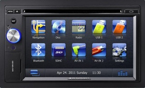 Blaupunkt New York 835 TRUCK double DIN in car navigation and multimedia system