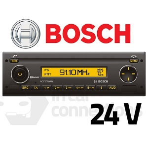 Bosch Rotterdam UBT40 multimedia 24v stereo radio for bus lorry