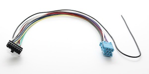 Spare mini-ISO wiring loom for Connects2 VW Seat Skoda AUX and iPod adapters