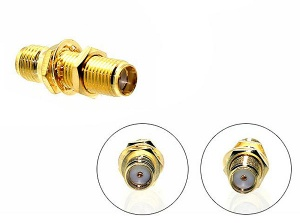 Car aerial adapter SMA Female - male to SMA male connector CT27AA120