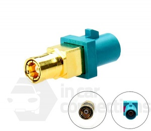 Car aerial adapter Fakra Male to SMB Female connector CT27AA180