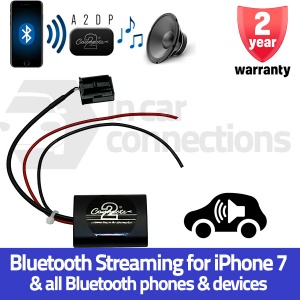 Opel Bluetooth music streaming adapter for Astra Zafira Tigra CTAOP1A2DP