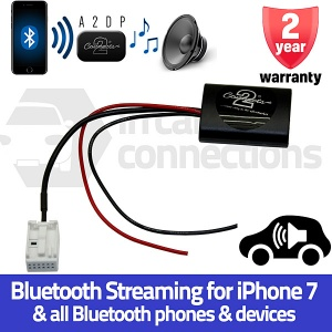 Peugeot Bluetooth streaming adapter for 207 307 308 407 607 807 Expert CTAPE1A2DP