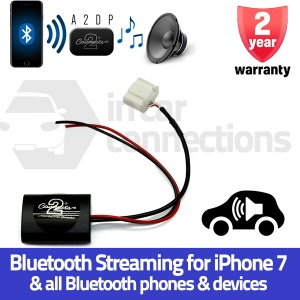 Toyota Bluetooth streaming adapter for Toyota Avensis Corolla RAV4 Yaris Prius 4Runner Landcruiser etc with AUX CTATY1A2DP