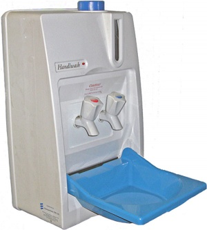 Eberspacher HandiWash Mobile hand wash unit for vans - hot and cold tap