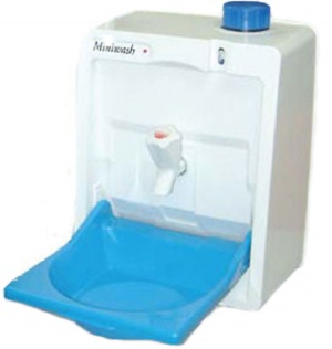 Eberspacher MiniWash Mobile hand wash unit for vans