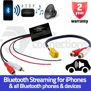 Fiat Bluetooth A2DP Music Streaming Interface Adapter for Fiat 500 and Grande Punto