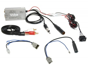Honda AUX adapter via Wired FM Modulator Civic CR-V Accord Jazz 2006 onwards