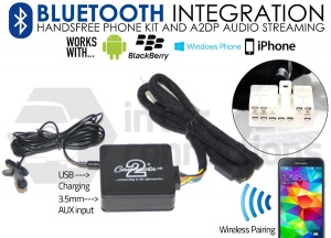 Lexus Bluetooth adapter for streaming and hands free calls CTALXBT002 pre 2004