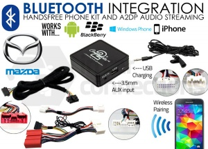 Mazda Bluetooth adapter for streaming and hands free calls CTAMZBT002 2009 onwards