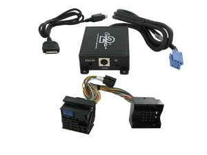 Renault iPod adapter and AUX input interface CTARNIPOD005.3 for Clio Scenic Megane Laguna with Quadlock connector
