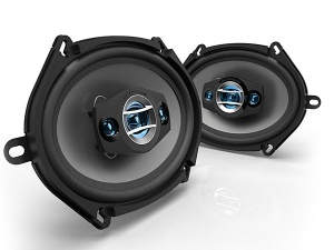 Scosche HD57684 5 x 7 inch in car speakers 3 way triaxial 200W