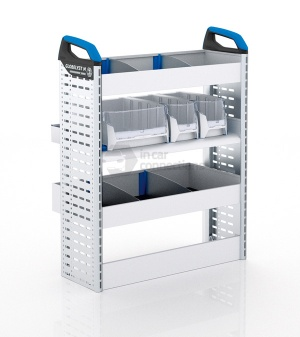 Sortimo Xpress FCLNS2 Van Racking for Ford Transit Connect, Long Wheel Base - Passenger Side Option 2