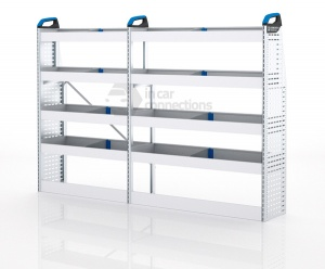 Sortimo Xpress VCSOS1 Van Racking for VW Volkswagen Crafter, Short Wheel Base - Driver Side Option 1