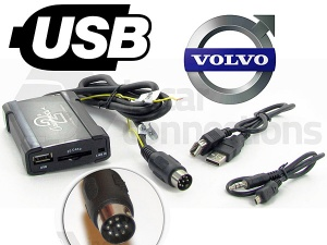 Volvo USB adapter CTAVLUSB001 for Volvo C70 S40 S60 S80 V40 V70 and XC70
